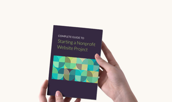 Starting a Nonprofit Website Project